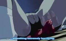 Monstro hentai estuprando duas ninfetas no quarto