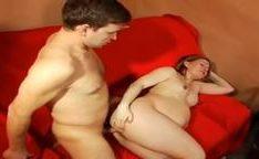 Comendo uma grávida de barrigão