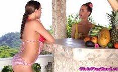 Modelo lésbicas fodendo no hotel