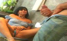 Casal do porno brasileira se masturbando