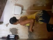 Novinha da favela peladinha depois do banho