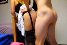 Comendo universitária no quarto em video de sexo