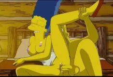 Vídeo de sexo dos Simpsons